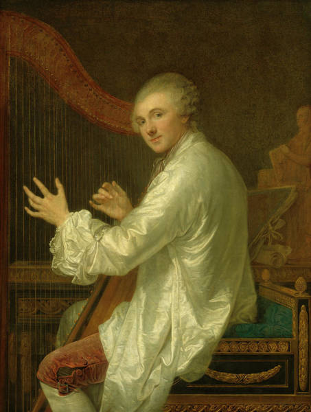 Painting - Ange Laurent De La Live De Jully by Jean-Baptiste Greuze