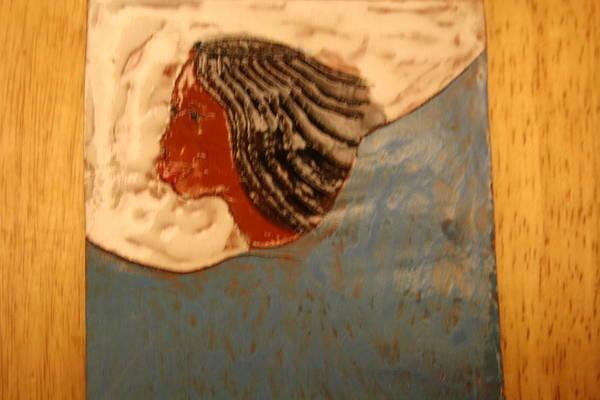 Ceramic Art - Angel - Tile by Gloria Ssali