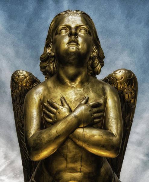 Guardian-angel Photograph - Angel by Martin Newman