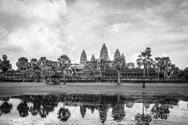 Photograph - Angkor Wat In Cambodia by Didier Marti