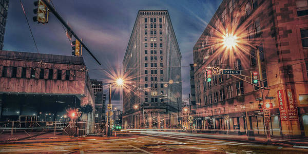 Photograph - Angles by Mike Dunn