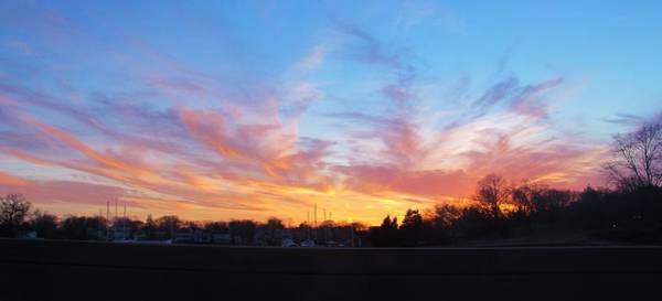 Wall Art - Photograph - Annapolis Sunset by Valia Bradshaw