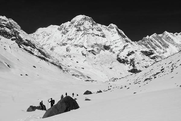 Photograph - Annapurna South, Himalayas, Nepal by Aidan Moran
