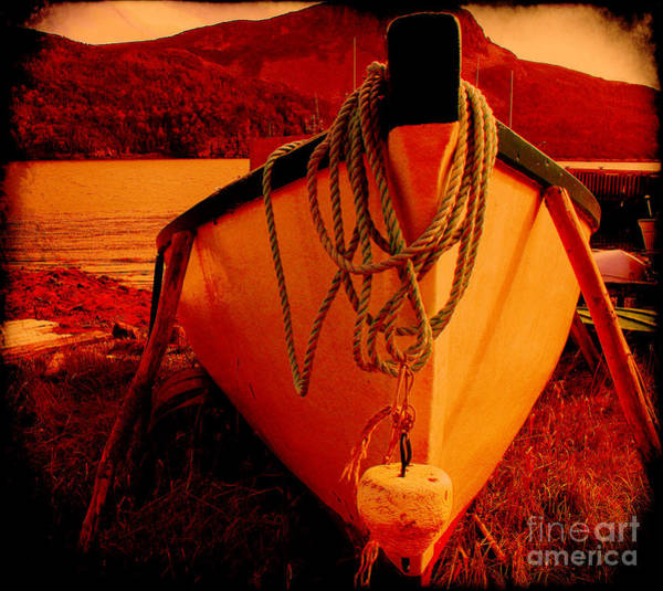 Prop Digital Art - Antique Bow And Rope by Barbara Griffin