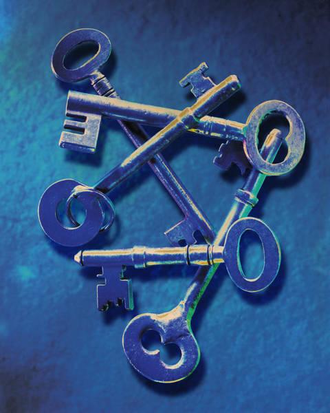 Wall Art - Photograph - Antique Keys by Kelley King