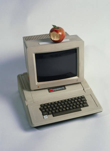Wall Art - Photograph - Apple II Computer by Volker Steger