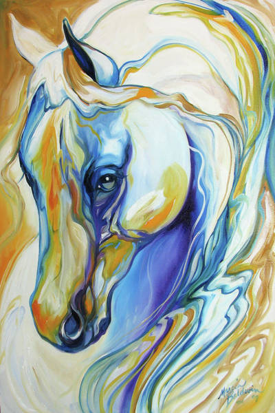 Painting - Arabian Abstract by Marcia Baldwin