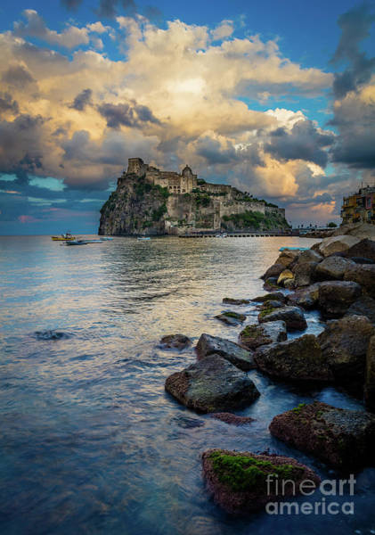 Wall Art - Photograph - Aragonese Coastline by Inge Johnsson