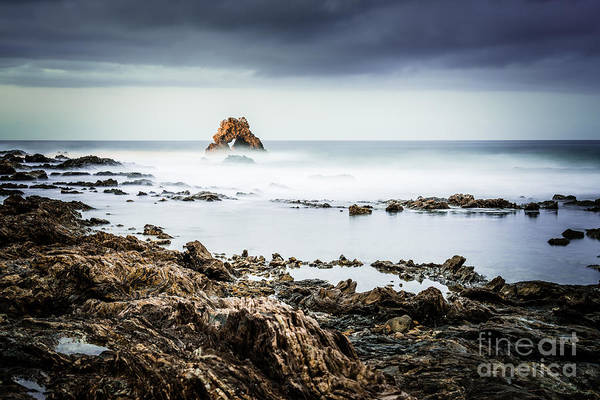 Wall Art - Photograph - Arch Rock In Corona Del Mar Newport Beach California by Paul Velgos