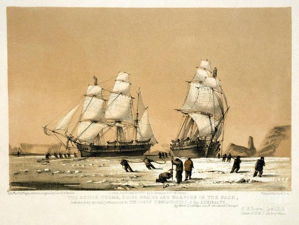 Drawing - Arctic Ocean by Granger