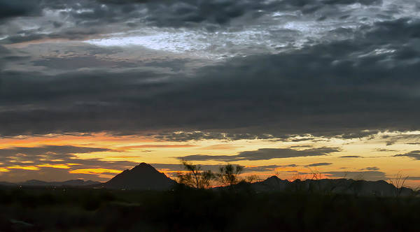 Photograph - Mesa Arizona Sunset by Tam Ryan