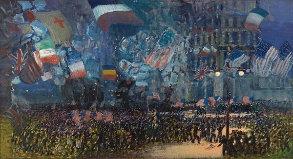 I Dream Painting - Armistice Night by Mountain Dreams