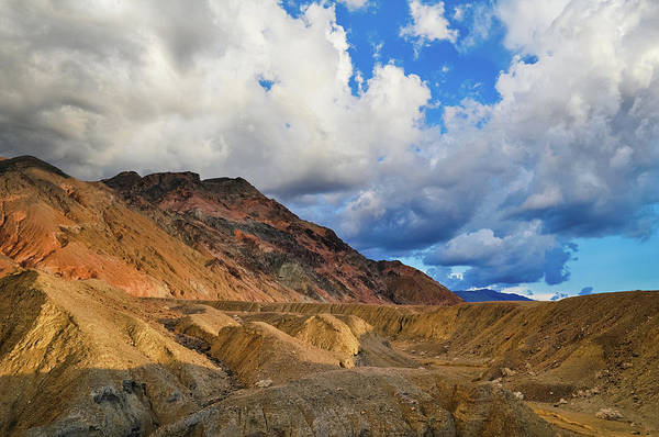 Photograph - Colorful Artist's Drive Death Valley by Kyle Hanson