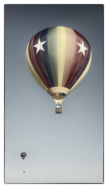 Balloon Festival Photograph - Ascent by Robert Fawcett