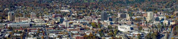 Grove Park Inn Photograph - Asheville Aerial Photo by David Oppenheimer