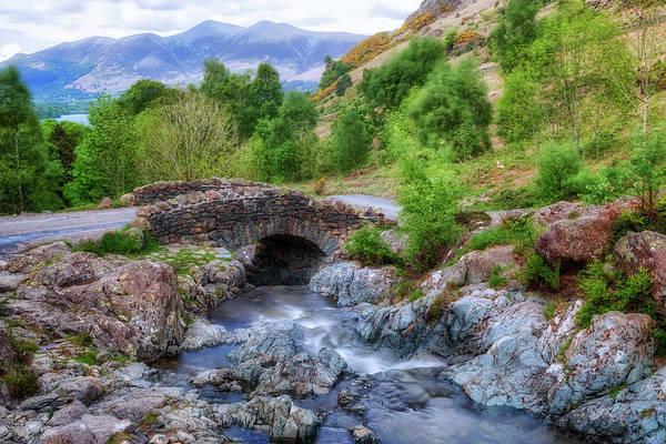 Berge Wall Art - Photograph - Ashness Bridge - Lake District by Joana Kruse