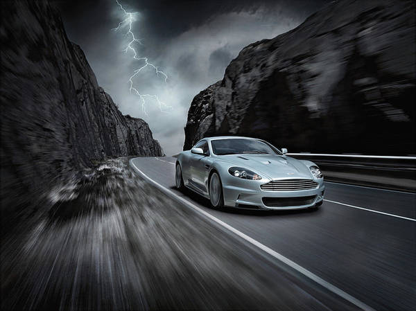 Aston Martin Photograph - Aston Martin Dbs by Jackie Russo