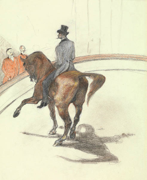 Drawing - At The Circus - The Spanish Walk by Henri de Toulouse-Lautrec