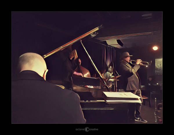 Photograph - At The Jazz Club by Tim Nyberg