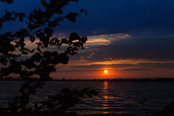 Photograph - Sunset At The Lake by Andreas Levi