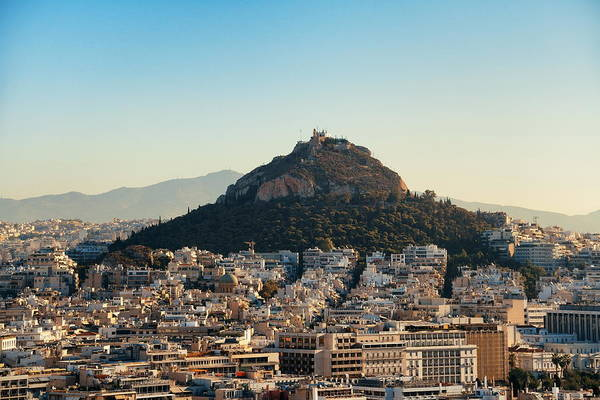 Photograph - Athens Cityscape by Songquan Deng