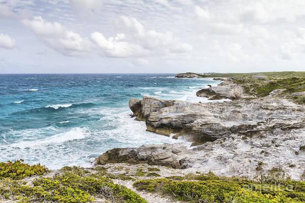 Photograph - Atlantic Coastline In Bahamas by Pier Giorgio Mariani