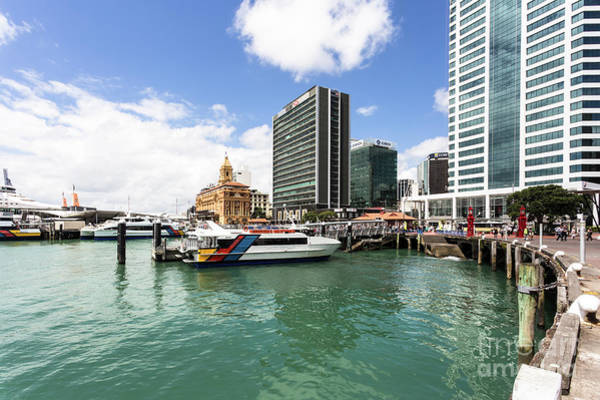 Photograph - Auckland Ferry Terminal by Didier Marti