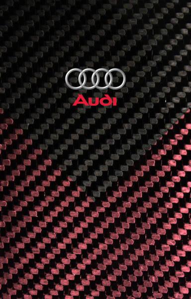 Carbon Fiber Photograph - Audi Carbon Line by Srdjan Petrovic