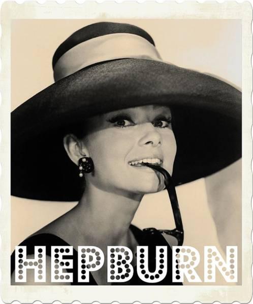 Legend Photograph - Audrey Hepburn by John Springfield
