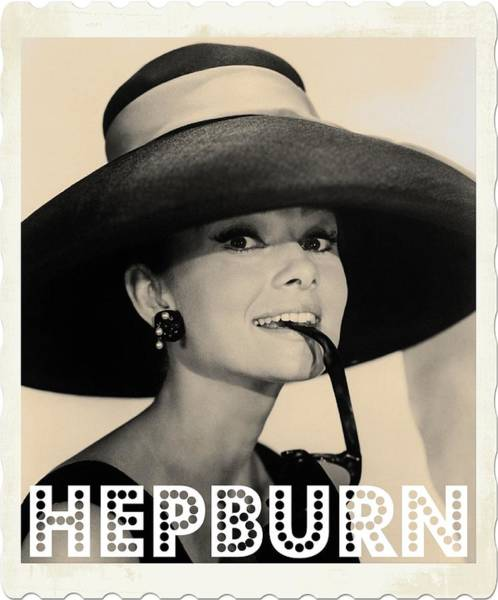 Hollywood Star Photograph - Audrey Hepburn by John Springfield