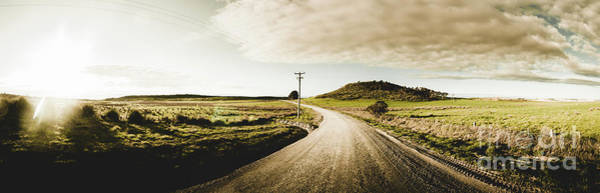 Dusty Photograph - Australian Rural Road by Jorgo Photography - Wall Art Gallery