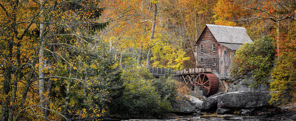 Babcock Photograph - Autumn At Glade Creek by Robert Fawcett