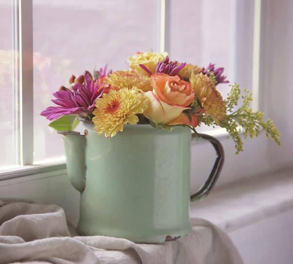 Photograph - Autumn Bouquet -2 by Kim Hojnacki