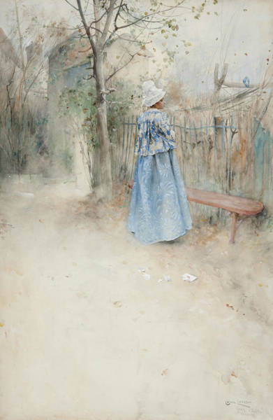Painting - Autumn by Carl Larsson