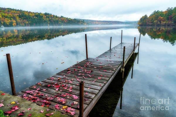 Wall Art - Photograph - Autumn Dock by DAC Photo