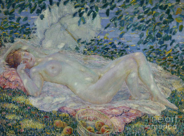 Wall Art - Painting - Autumn by Frederick Carl Frieseke