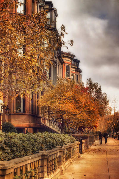 Photograph - Autumn In Boston by Joann Vitali