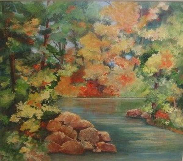 Painting - Autumn In Haliburton by Sue Nelson