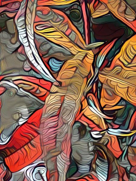 Digital Art - Autumn Leaves by Amanda Moore