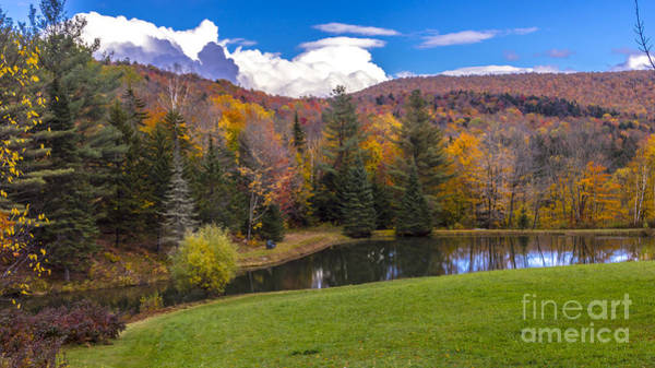 Photograph - Autumn On The Back Roads Of Vermont. by New England Photography