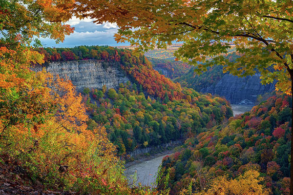 Wall Art - Photograph - Autumn On The Genesee II by Rick Berk
