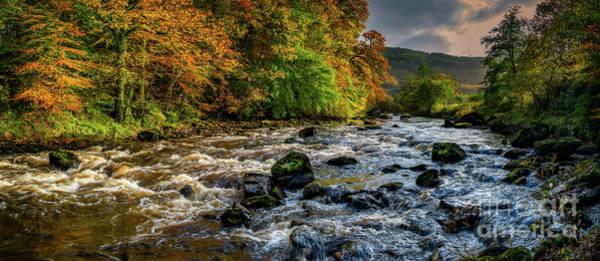 Coed Photograph - Autumn Rapids by Adrian Evans