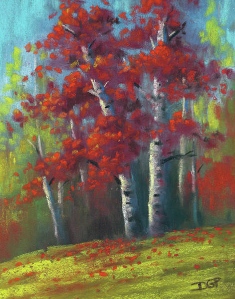 Wall Art - Painting - Autumn Returns by David G Paul