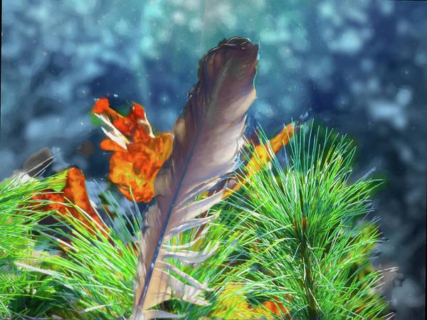 Digital Art - Autumn Still Life by Rusty R Smith