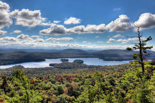 Photograph - Autumn View From Bald Mountain by David Patterson