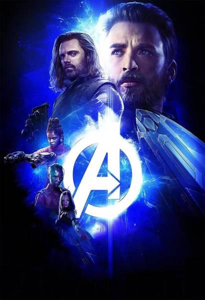 Wall Art - Digital Art - Avengers Infinity War by Geek N Rock