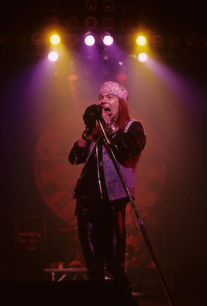 Photograph - Axl Rose  by Rich Fuscia