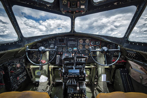 B24 Photograph - B-17 Flying Fortress  by Mike Burgquist