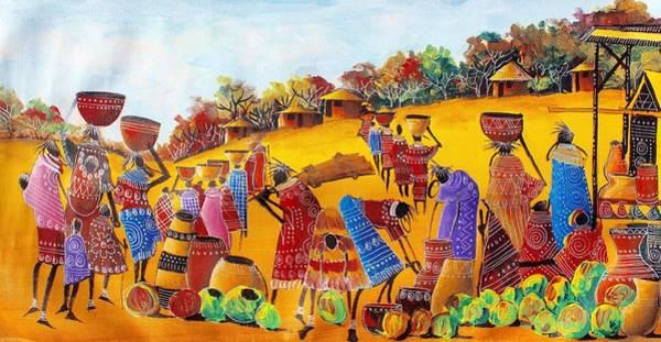 Painting - B-365 by Martin Bulinya