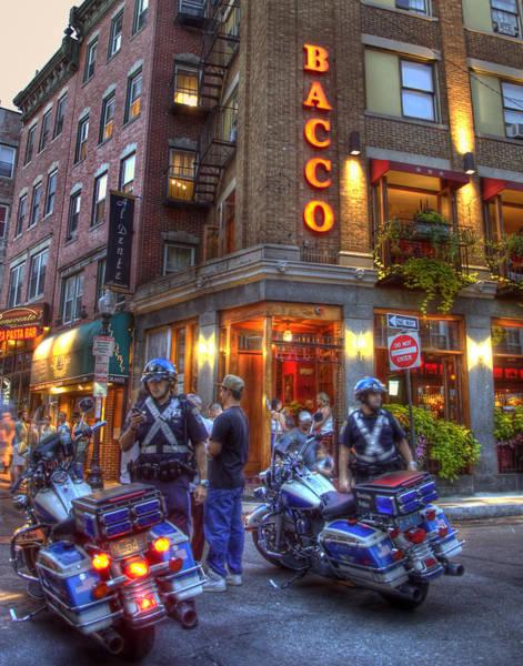 Photograph - Bacco Restaurant - Boston by Joann Vitali